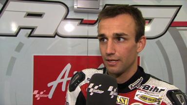 Silverstone 2011 - 125cc - FP2 - Interview - Johann Zarco