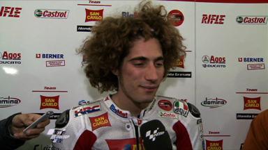 Silverstone 2011 - MotoGP - FP2 - Interview - Marco Simoncelli