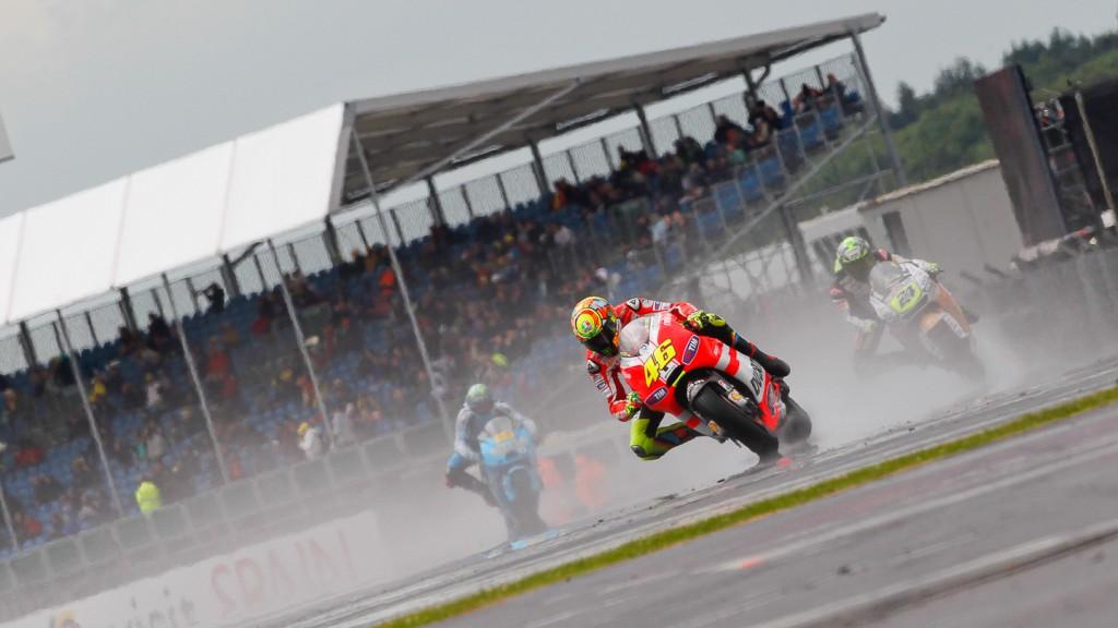 Valentino Rossi, Ducati Team, Silverstone FP2