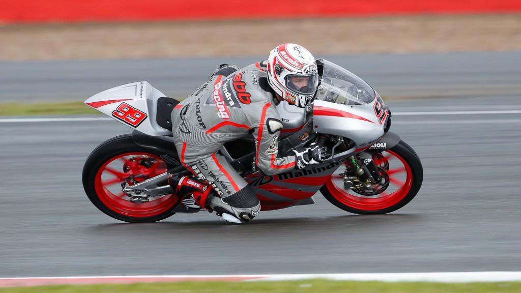 Danny Webb, Mahindra Racing, Silverstone FP2