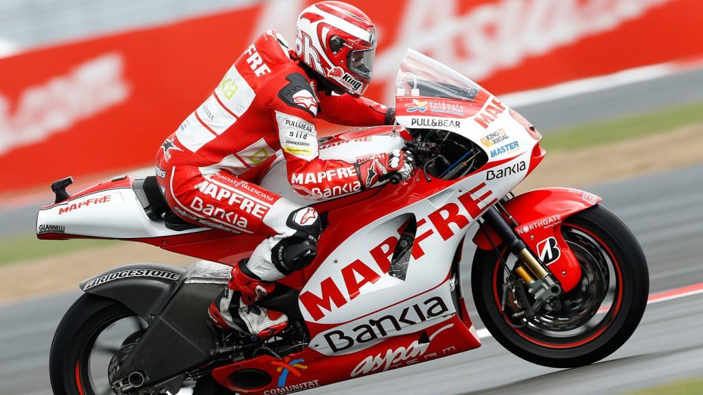 Hector Barbera, Mapfre Aspar Team MotoGP, Silverstone