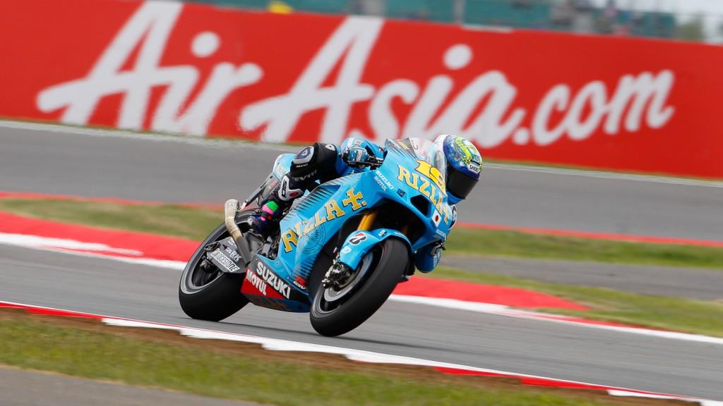 Alvaro Bautista, Rizla Suzuki MotoGP, Silverstone FP2