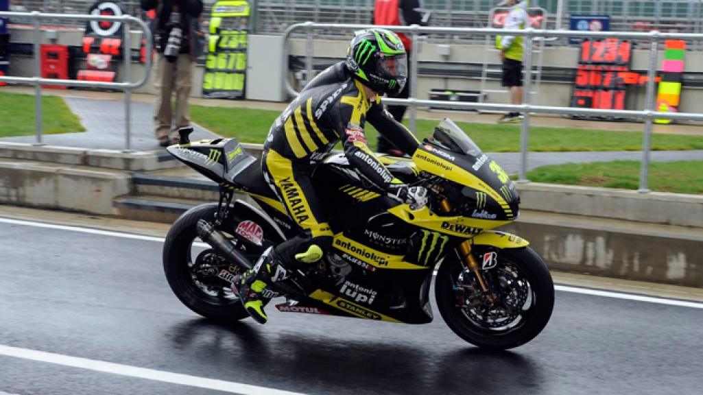 Cal Crutchlow, Monster Yamaha Tech 3, Silverstone FP2