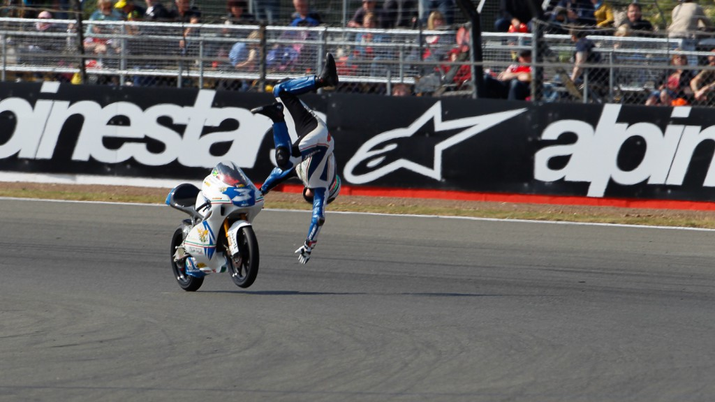 Luigi Morciano, Team Italia FMI, Silverstone QP