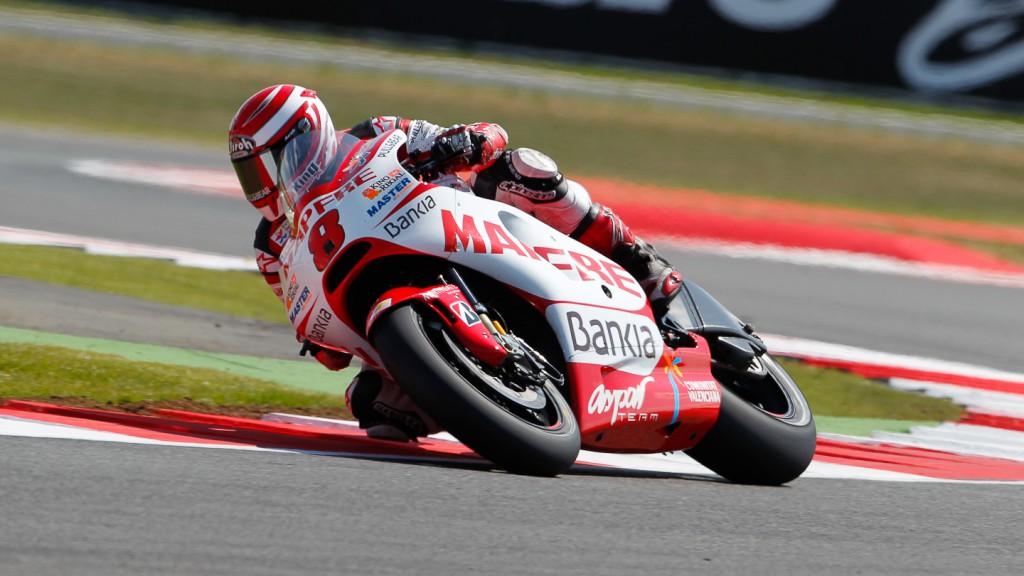 Hector Barbera, Mapfre Aspar Team MotoGP, Silverstone QP