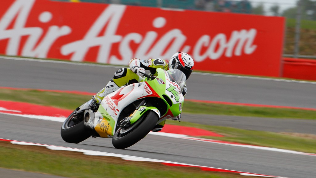 Randy de Puniet, Pramac Racing Team, Silverstone QP