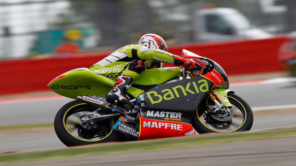 Nico Terol, Bankia Aspar Team 125cc, Silverstone FP3