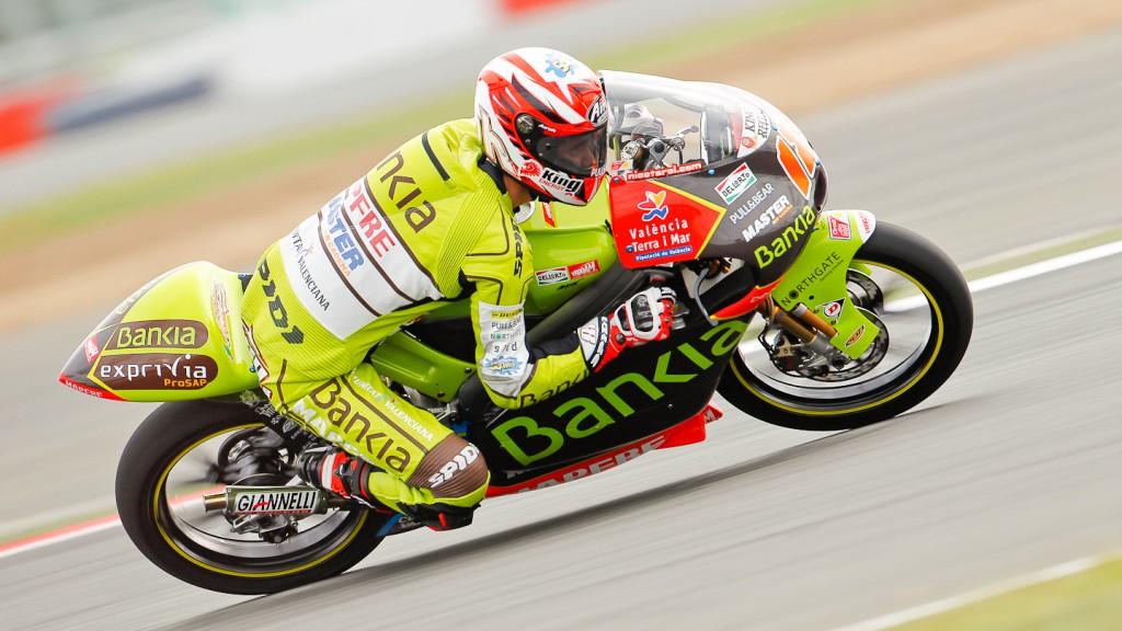Nico Terol, Bankia Aspar Team 125cc, Silverstone QP