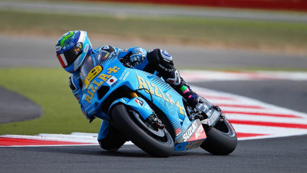 Alvaro Bautista, Rizla Suzuki MotoGP, Silverstone QP