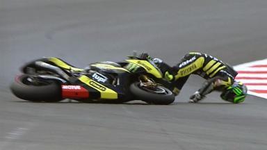 Silverstone 2011 - MotoGP - QP - Action - Cal Crutchlow - Crash