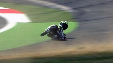 Silverstone 2011 - MotoGP - QP - Action - Toni Elias - Crash