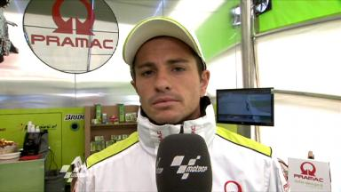 Silverstone 2011 - MotoGP - QP - Interview - Randy De Puniet
