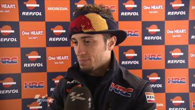 Silverstone 2011 - MotoGP - QP - Interview - Andrea Dovizioso