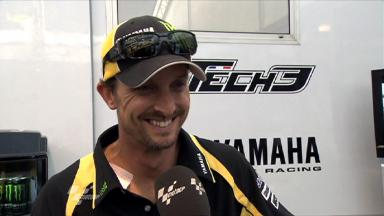 Silverstone 2011 - MotoGP - QP - Interview - Colin Edwards
