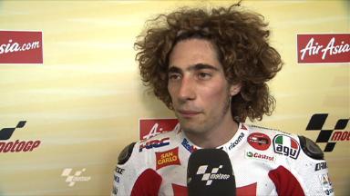 Silverstone 2011 - MotoGP - QP - Interview - Marco Simoncelli
