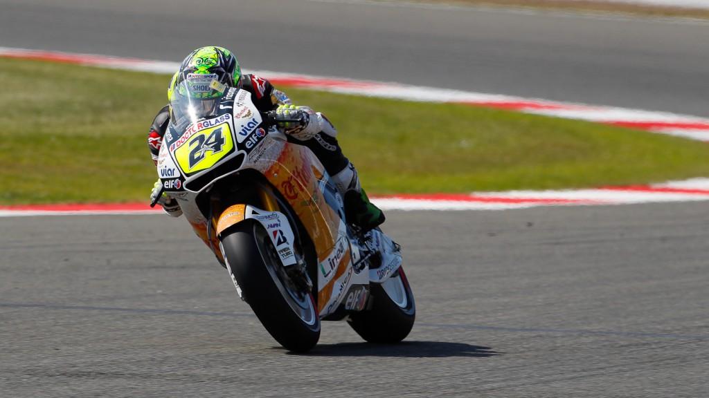Toni Elias, LCR Honda MotoGP, Silverstone QP