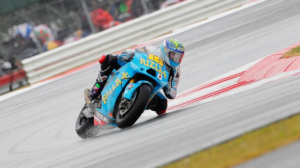 Alvaro Bautista, Rizla Suzuki MotoGP, Silverstone RAC