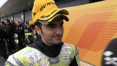 Silverstone 2011 - 125cc - Race - Interview - Hector Faubel