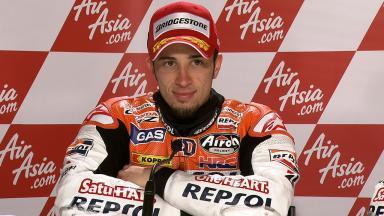 Silverstone 2011 - MotoGP - Race - Interview - Andrea Dovizioso