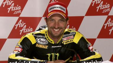 Silverstone 2011 - MotoGP - Race - Interview - Colin Edwards