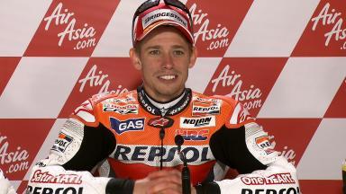 Silverstone 2011 - MotoGP - Race - Interview - Casey Stoner