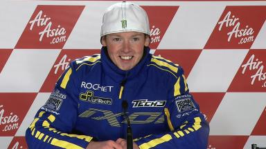 Silverstone 2011 - Moto2 - Race - Interview - Bradley Smith
