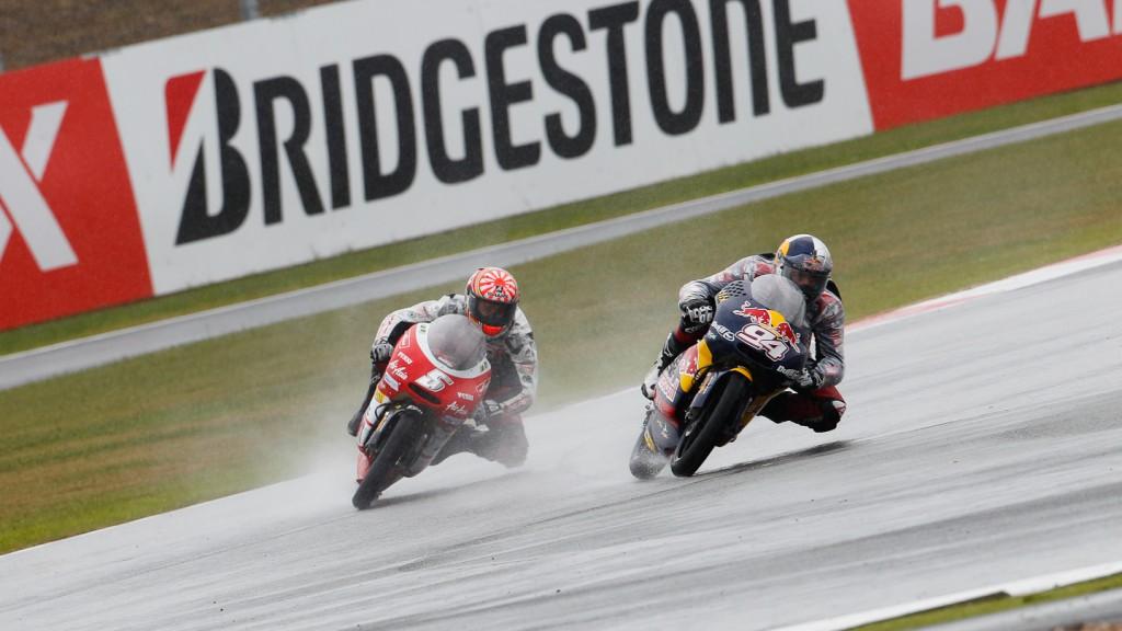 Jonas Folger, Johan Zarco, Red Bull Ajo MotorSport, Avant-AirAsia-Ajo, Silverstone RAC