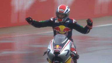 Red Bull MotoGP Rookies Silverstone Race 2 Highlights