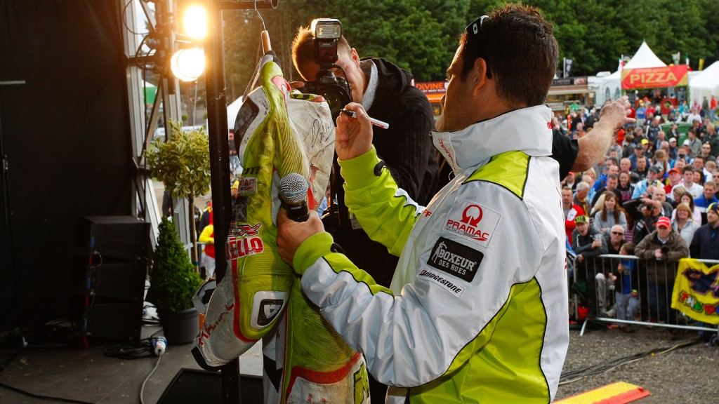 Randy de Puniet, Pramac Racing Team, Day of Champions, Silverstone