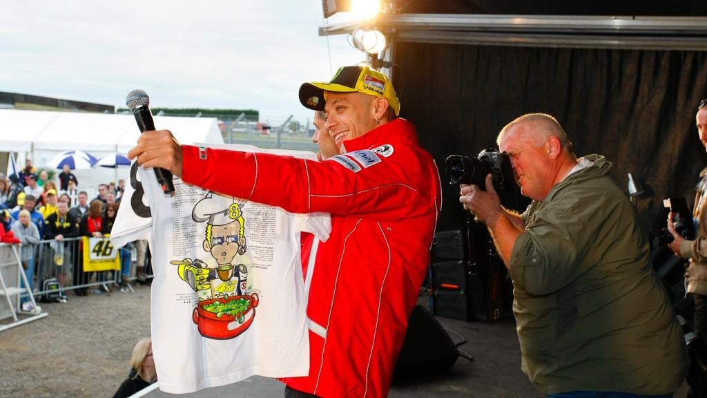 Valentino Rossi, Ducati Team, Day of Champions, Silverstone