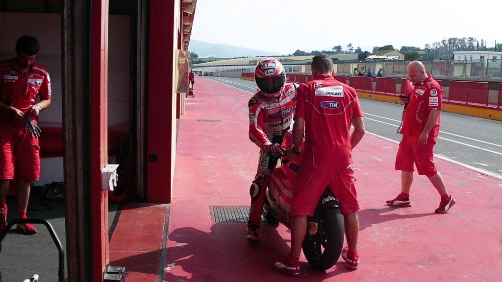 Nicky Hayden, Ducati Demosedici GP12