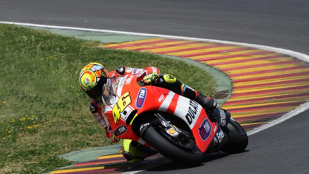 Valentino Rossi, Ducati Desmosedici GP12