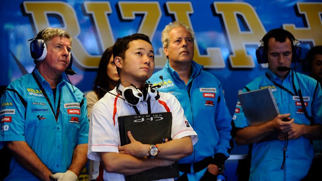 Rizla Suzuki MotoGP, Box
