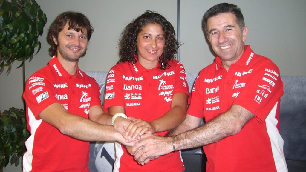 Gino Borsoi, Elena Rosell, Jorge Martínez