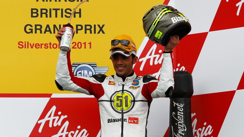 Michele Pirro, Gresini Racing Moto2, Silverstone RAC