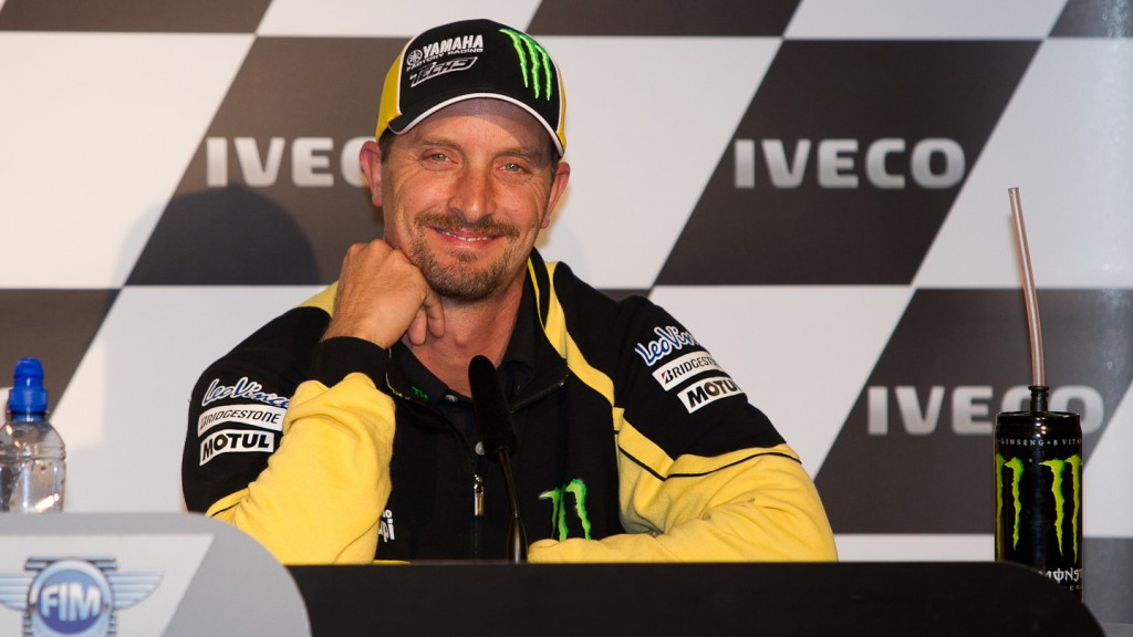 Colin Edwards, Monster Yamaha Tech3, Iveco TT Assen Press Conference