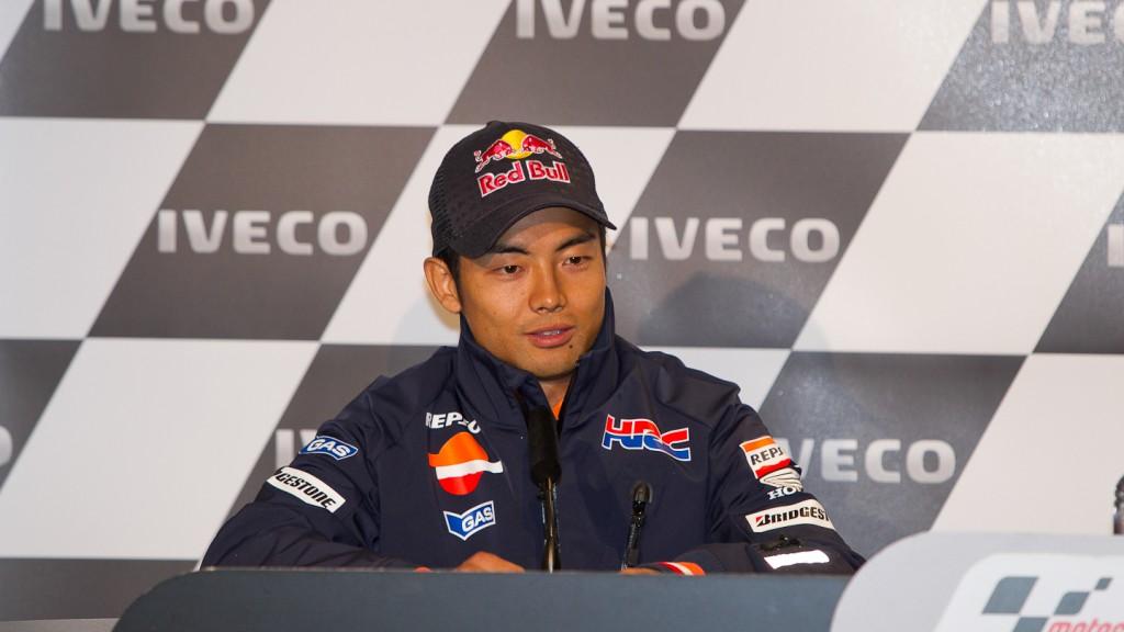 Hiroshi Aoyama, Repsol Honda Team, Iveco TT Assen Press Conference