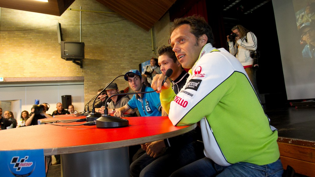 Loris Capirossi, Pramac Racing Team, Dr. Nassau College, Holland