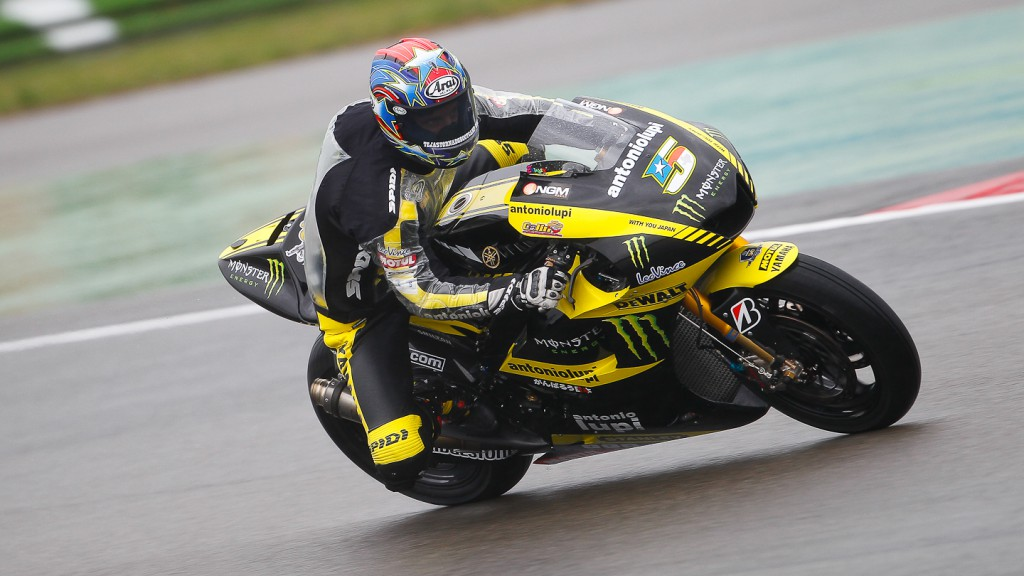 Colin Edwards, Monster Yamaha Tech3, Assen FP1