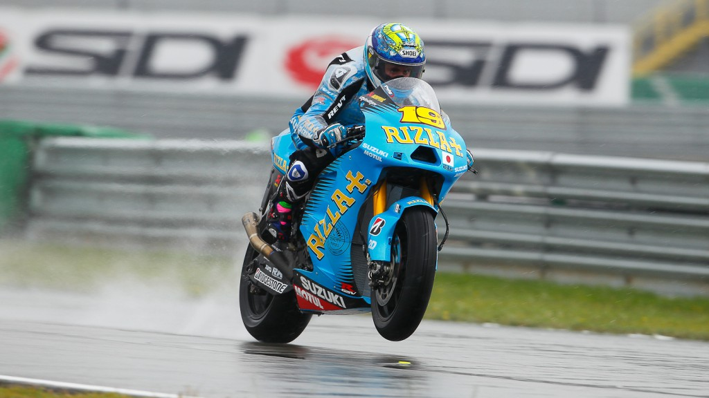 Alvaro Bautista, Rizla Suzuki MotoGP, Assen FP1