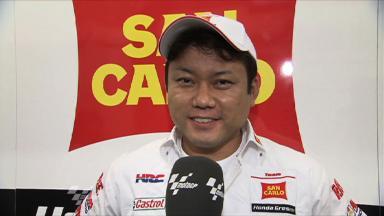 Assen 2011 - MotoGP - FP1 - Interview - Kousuke Akiyoshi