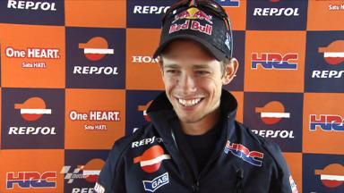 Stoner discusses Assen first day
