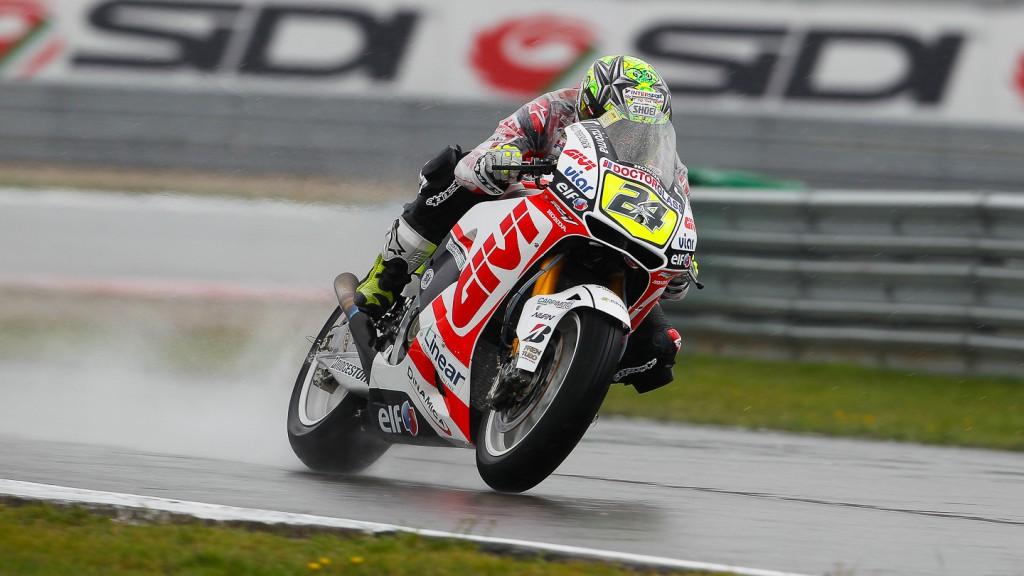Toni Elias, LCR Honda MotoGP, Assen FP1