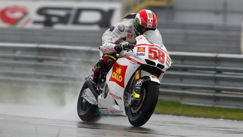 Marco Simoncelli, San Carlo Honda Gresini, Assen FP1