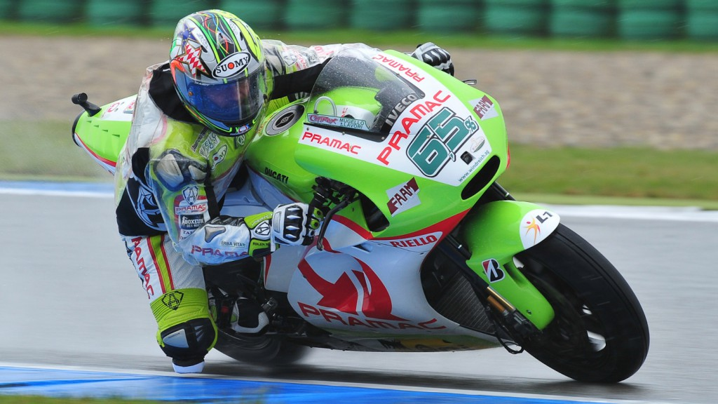 Loris Capirossi, Pramac Racing Team, Assen FP1