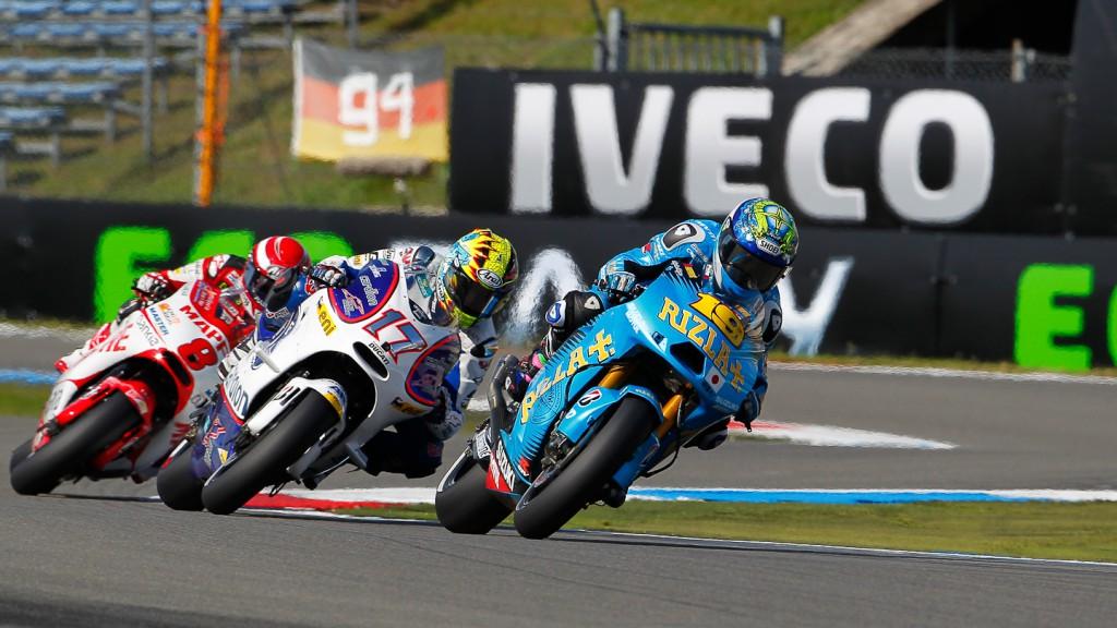 Alvaro Bautista, Karel Abraham, Rizla Suzuki MotoGP, Cardion AB Motoracing, Assen QP