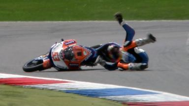 Assen 2011 - 125cc - QP - Action - Jasper Iwema - Crash