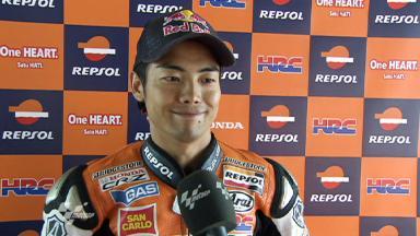 Assen 2011 - MotoGP - QP - Interview - Hiroshi Aoyama
