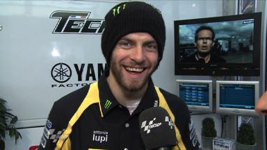 Assen 2011 - MotoGP - QP - Interview - Cal Crutchlow