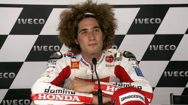 Assen 2011 - MotoGP - QP - Interview - Marco Simoncelli